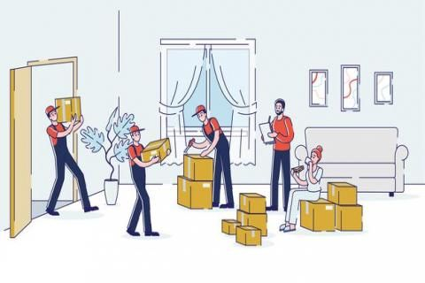 شركات نقل الاثاث -عمال نقل الاثاث