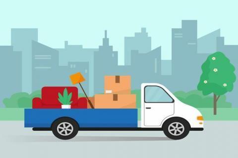 شركات نقل الاثاث -سيارة نقل اثاث