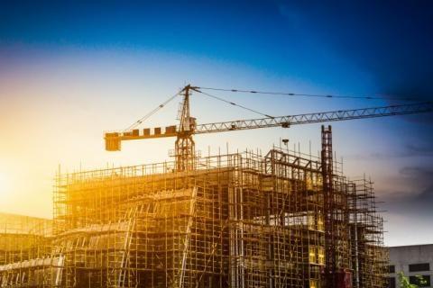 قانون البناء الجديد -مبنى تحت الإنشاء