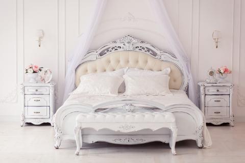 غرفة نوم في معرض الاثاث بالزقازيق