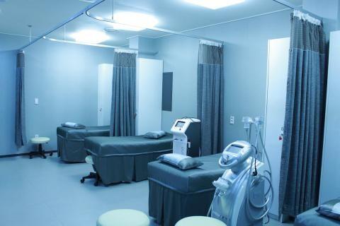 مستشفى الهرم الجيزة -عنبر به أسرة للمرضى