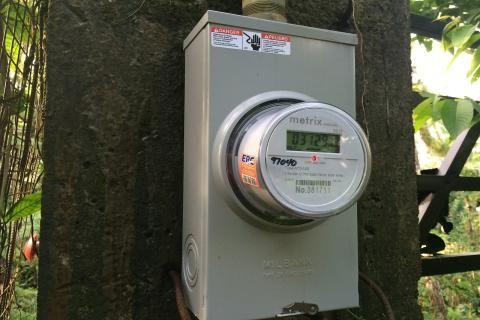 تكلفة تركيب عداد كهرباء كودي -صورة عداد كهربائي