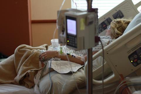 مستشفى فيكتوريا كفر الشيخ -غرفة مريض في المستشفى
