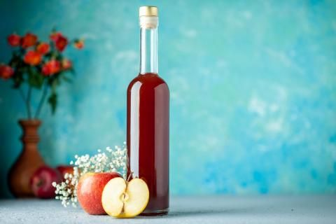 تعرف على أهم فوائد خل التفاح
