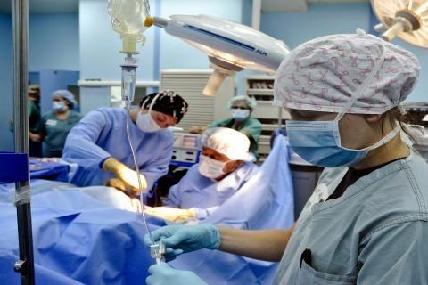 مستشفى الكاتب في الدقي -غرفة العمليات