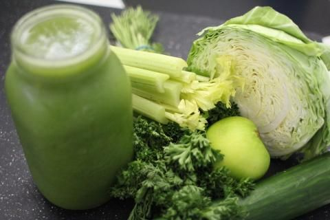 وصفات تخسيس البطن -خضروات ومشروب صحي