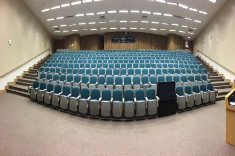 قاعة المحاضرات في الجامعة الإلكترونية السعودية