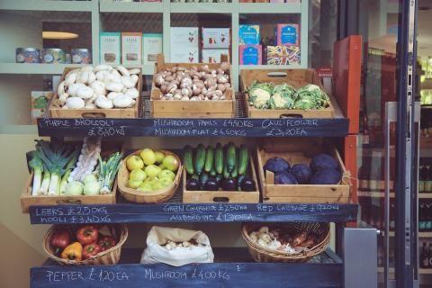 قسم الخضروات في سعودى ماركت